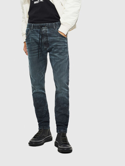 Diesel - Krooley JoggJeans 069MD, Dunkelblau - Jeans - Image 1