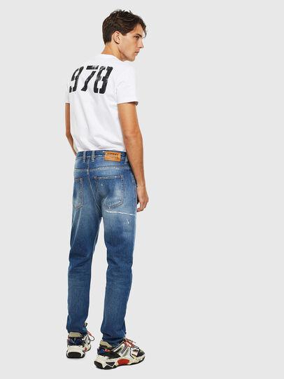 Diesel - D-Vider 0097B, Mittelblau - Jeans - Image 6