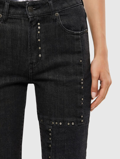 Diesel - D-Joy 009KY, Black/Dark grey - Jeans - Image 5