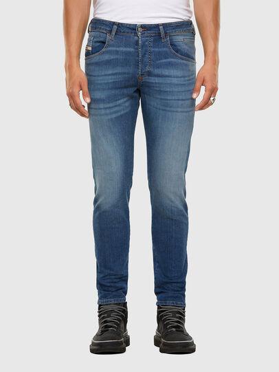 Diesel - D-Bazer 009DB, Mittelblau - Jeans - Image 1