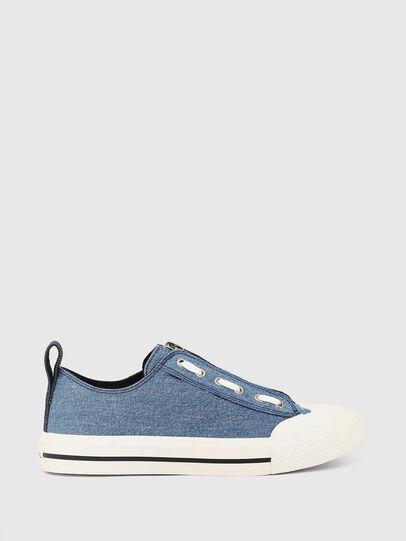 Diesel - S-ASTICO LZIP W, Blue - Sneakers - Image 1