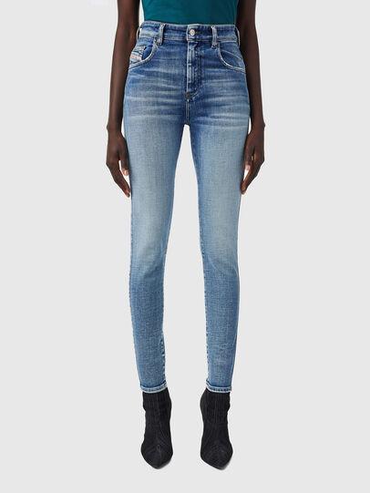 Diesel - Slandy High 09B09, Light Blue - Jeans - Image 1