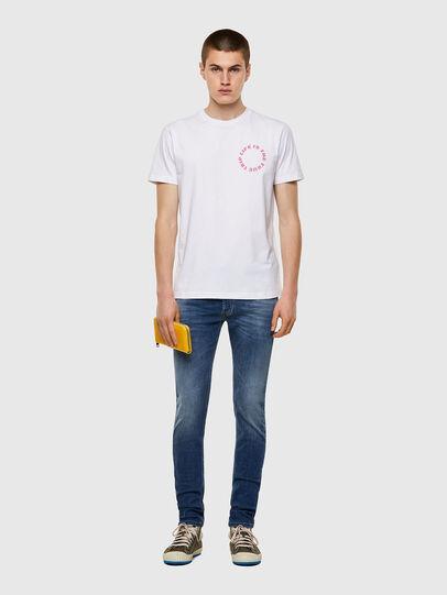 Diesel - T-DIEGOS-B7, Weiß - T-Shirts - Image 4