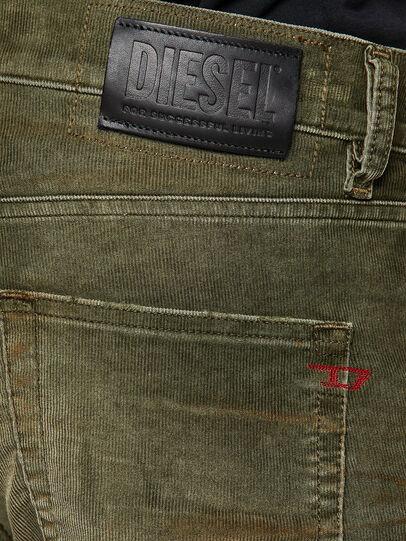 Diesel - D-Strukt 069PT, Armeegrün - Jeans - Image 4