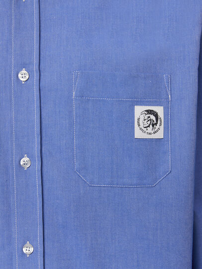 Diesel - S-JAMES, Bleu - Chemises - Image 3