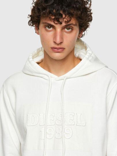 Diesel - DxD-21, Weiß - Sweatshirts - Image 4