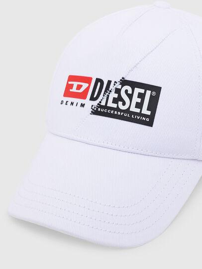 Diesel - CAP-CUTY, Bianco - Cappelli - Image 3