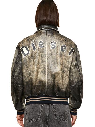 Diesel - DxD-2, Nero - Giacche di pelle - Image 4