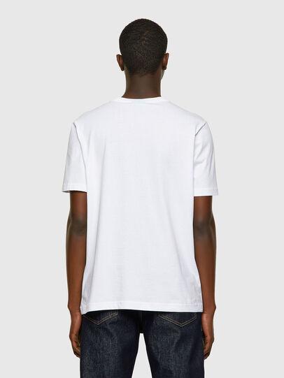 Diesel - T-JUST-INLOGO, Bianco - T-Shirts - Image 2