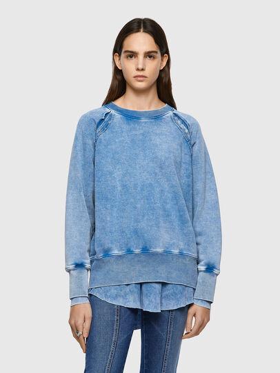 Diesel - F-ROXXY-B1, Blau - Sweatshirts - Image 1