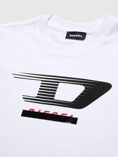 Diesel - TJUSTY4, Weiß - T-Shirts und Tops - Image 3