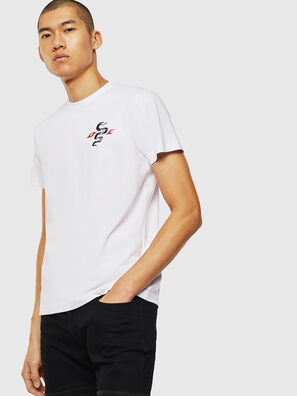 T-DIEGO-J16, Weiß - T-Shirts