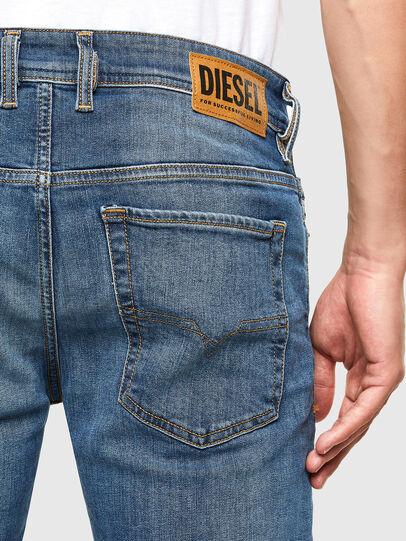Diesel - Sleenker 069FZ, Blu medio - Jeans - Image 4