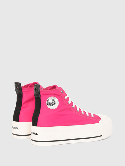Diesel - S-ASTICO MC WEDGE, Rosa - Sneakers - Image 3