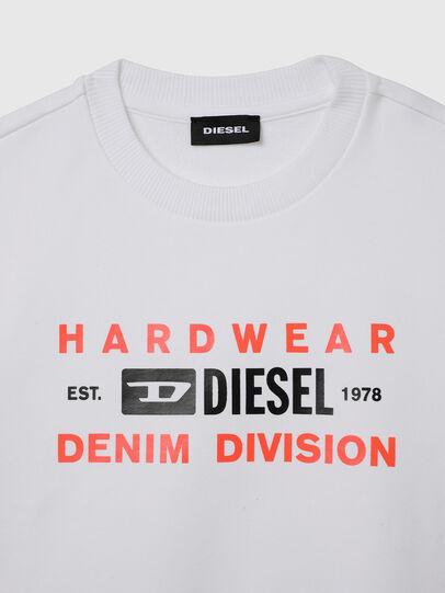Diesel - SGIRKK10 OVER, Blanc - Pull Cotton - Image 3