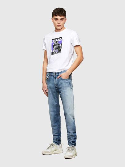 Diesel - D-Strukt 009NS, Bleu Clair - Jeans - Image 5