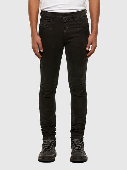 Diesel - D-Strukt JoggJeans 009GH, Schwarz/Dunkelgrau - Jeans - Image 1