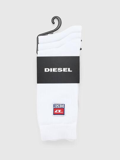 Diesel - SKM-RAY-THREEPACK, Weiß - Strümpfe - Image 2