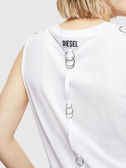 Diesel - T-LESLEE-A, Weiß - T-Shirts - Image 3