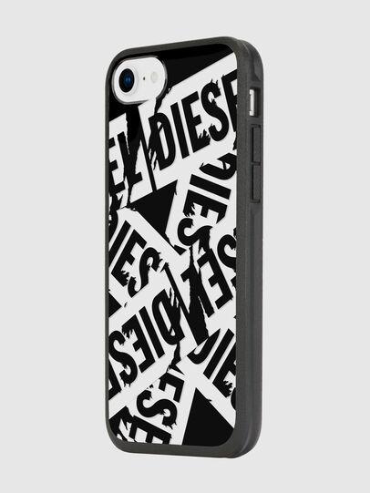 Diesel - MULTI TAPE BLACK/WHITE IPHONE 8/7/6S/6 CASE, Schwarz - Schutzhüllen - Image 5