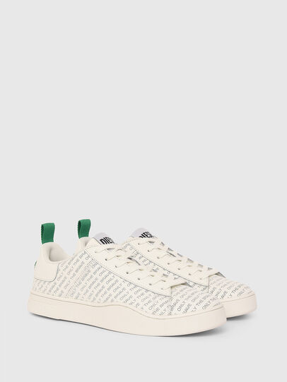 Diesel - S-CLEVER LOW LACE, Blanc/Vert - Baskets - Image 2