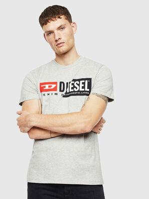T-DIEGO-CUTY, Hellgrau - T-Shirts