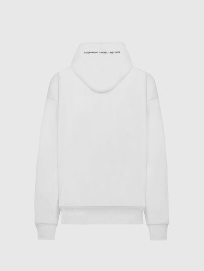 Diesel - S-ALBY-COPY-J1, Blanc - Pull Cotton - Image 2