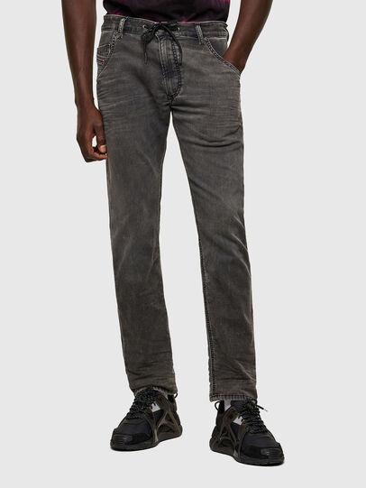 Diesel - Krooley JoggJeans® 069SY, Noir/Gris foncé - Jeans - Image 1