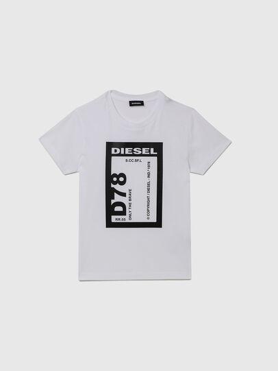 Diesel - TFULL78, Bianco - T-shirts e Tops - Image 1