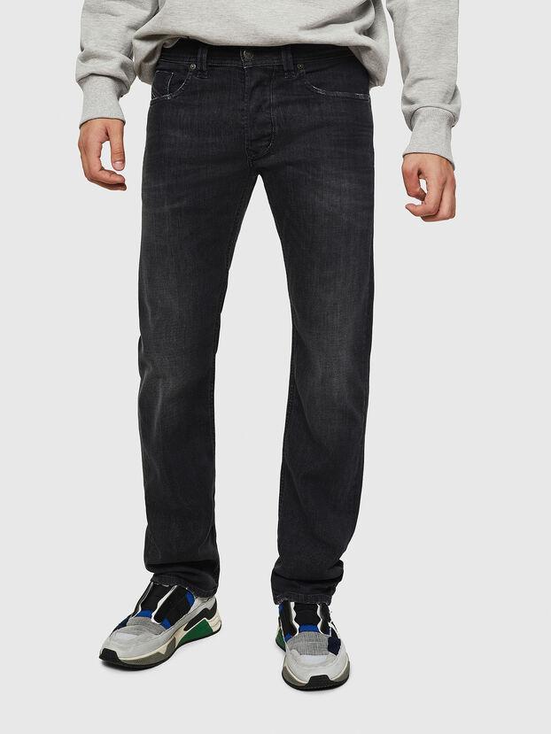 Larkee 082AS, Schwarz/Dunkelgrau - Jeans