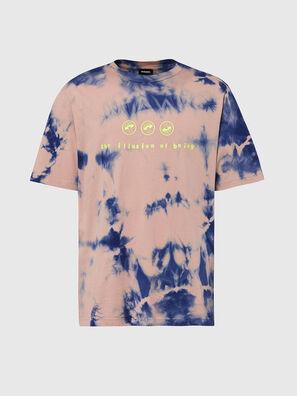 T-JUST-SLITS-X86, Rosa/Blau - T-Shirts