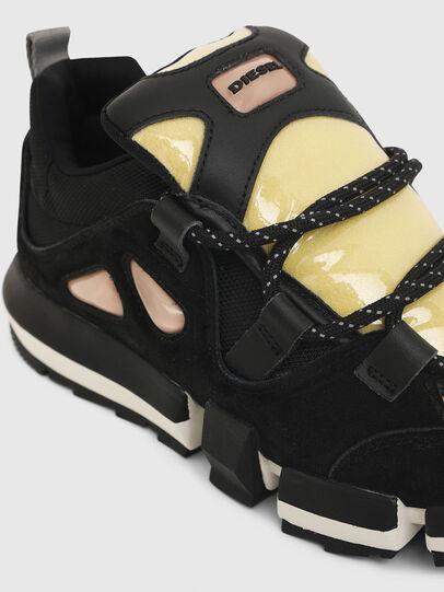 Diesel - H-PADOLA SL W, Schwarz/Gelb - Sneakers - Image 5