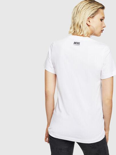 Diesel - T-SILY-YB, Weiß - T-Shirts - Image 2