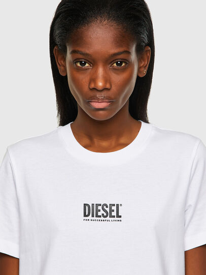 Diesel - T-SILY-ECOSMALLOGO, Blanc - T-Shirts - Image 3