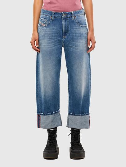 Diesel - D-Reggy 009JX, Hellblau - Jeans - Image 1