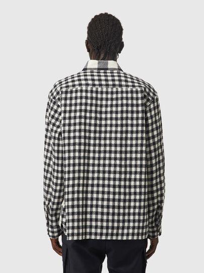 Diesel - S-BUNNEL-CHECK, Noir/Blanc - Chemises - Image 2