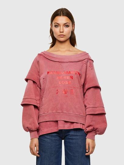 Diesel - F-STRAT, Rosa - Sweatshirts - Image 1