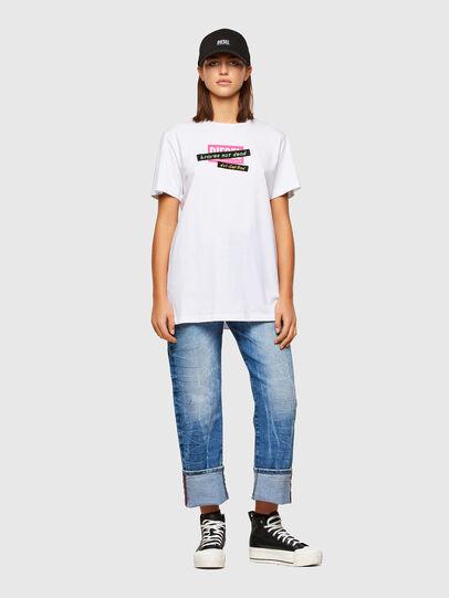 Diesel - T-DARIA-R2, Weiß - T-Shirts - Image 4