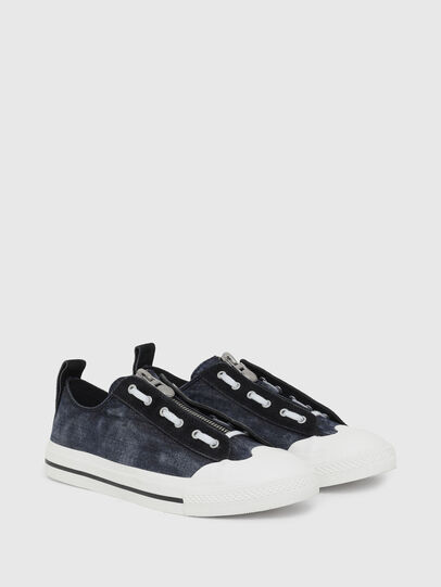 Diesel - S-ASTICO LZIP, Dark Blue - Sneakers - Image 2