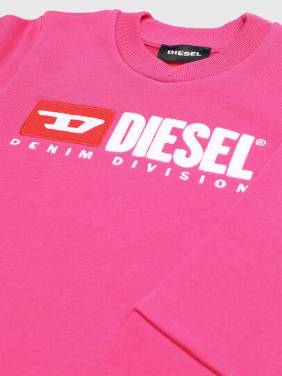 Diesel - SCREWDIVISIONB-R, Fuchsie - Sweatshirts - Image 3