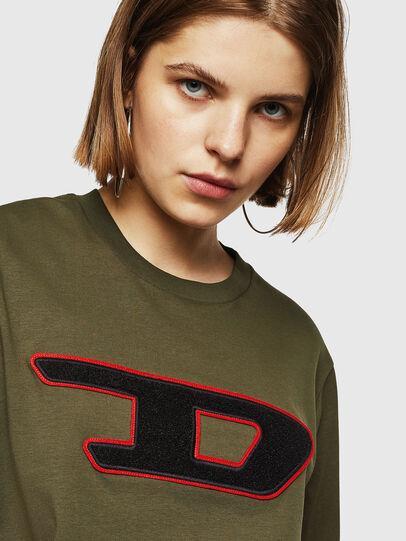 Diesel - T-JUST-DIVISION-D-FL, Armeegrün - T-Shirts - Image 3