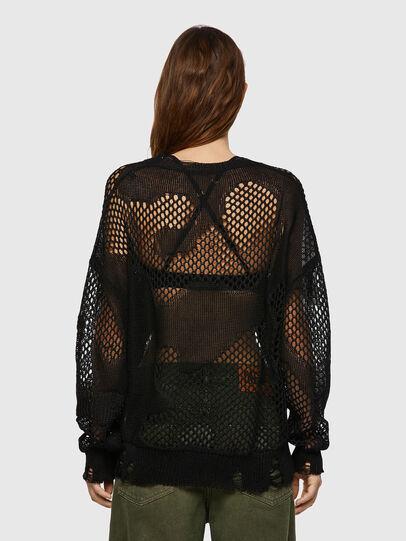 Diesel - M-MISSOURI, Black - Knitwear - Image 2