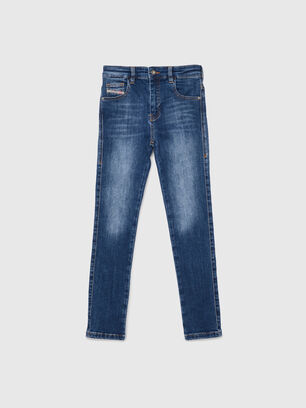 D-SLANDY-HIGH-J, Mittelblau - Jeans