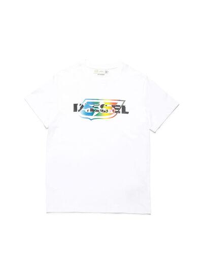 Diesel - D-55LOGO, Weiß - T-Shirts - Image 1