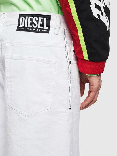 Diesel - D-BRON, Weiß - Kurze Hosen - Image 3
