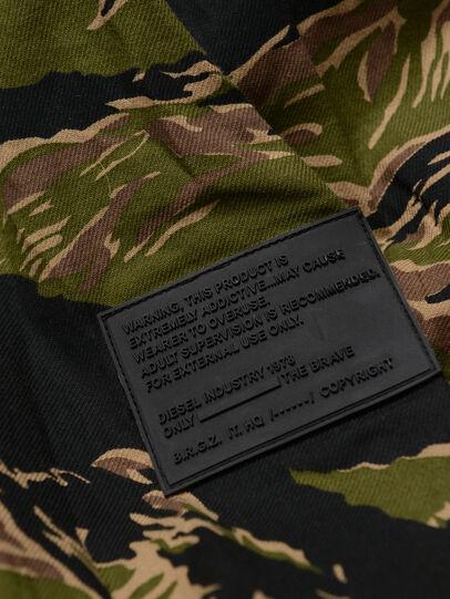 Diesel - CKUTUZOV OVER, Armeegrün - Hemden - Image 4