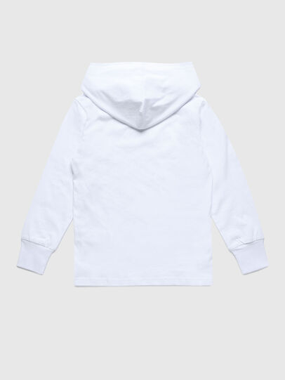 Diesel - TDIEGOHOODS3 ML, Blanc - T-shirts et Hauts - Image 2