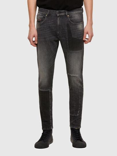 Diesel - D-Strukt 009MZ, Nero/Grigio scuro - Jeans - Image 1