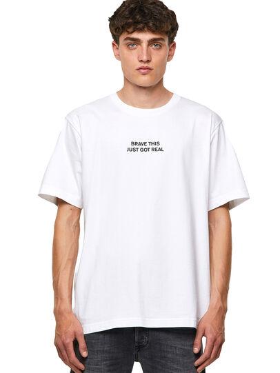 Diesel - T-TUBOLAR-B3, Weiß - T-Shirts - Image 1