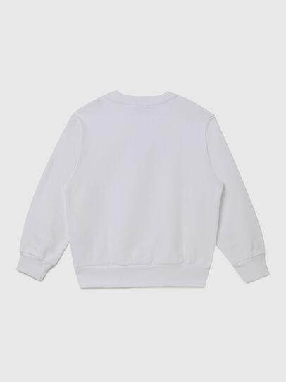 Diesel - SGIRKX5 OVER, Blanc - Pull Cotton - Image 2